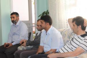İHH gönüllülerinden şehit İbrahim Bilgen'e ziyaret